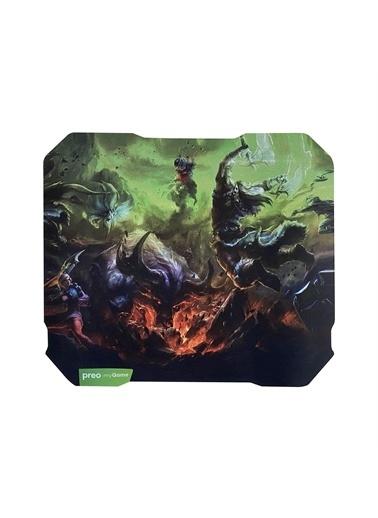 Preo My Game Mg33 Gaming Mouse Pad Yeşil 24X27 Cm Yeşil